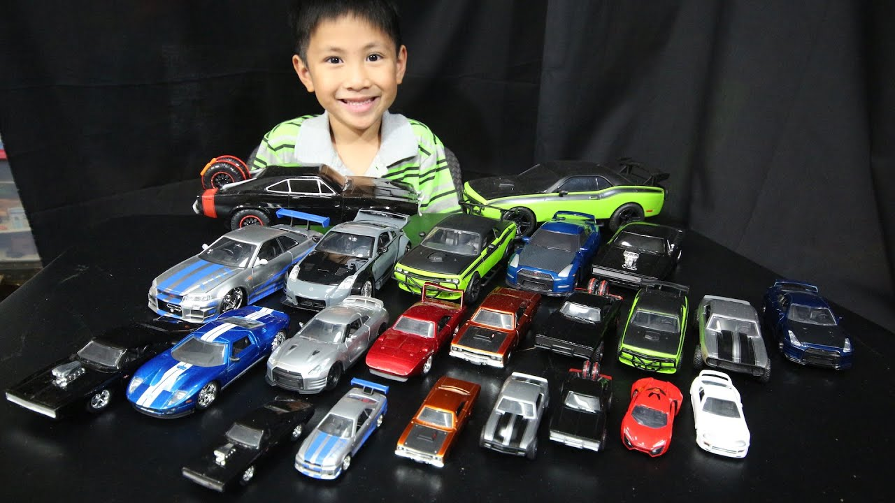 fast and furious cars collection jada toys youtube. Black Bedroom Furniture Sets. Home Design Ideas