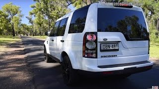 2016 Land Rover Discovery SDV6 0-100km/h & engine sound