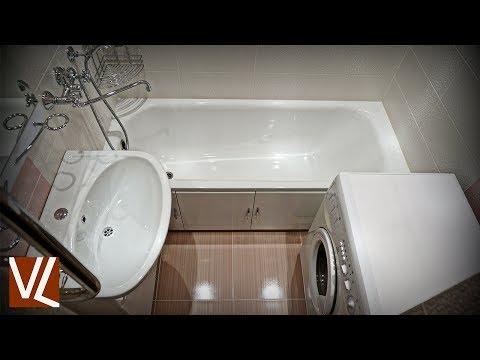 Эконом вариант ванной комнаты / Интересная плитка