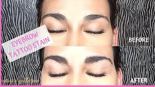 Eyebrow Tattoo Stain   Beauty   2019