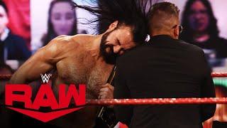 "The Miz gets Drew McIntyre heated on ""Miz TV"": Raw, Feb. 15, 2021"