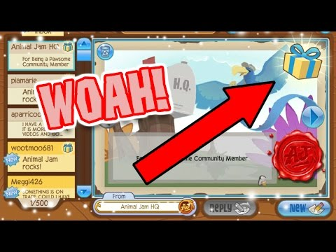 ANIMAL JAM SENT ME SOMETHING!