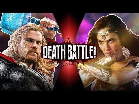 Thor VS Wonder Woman (Marvel VS DC Comics) | DEATH BATTLE