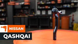 Kuinka vaihtaa raidetangon pää NISSAN QASHQAI 1 -merkkiseen autoon OHJEVIDEO | AUTODOC