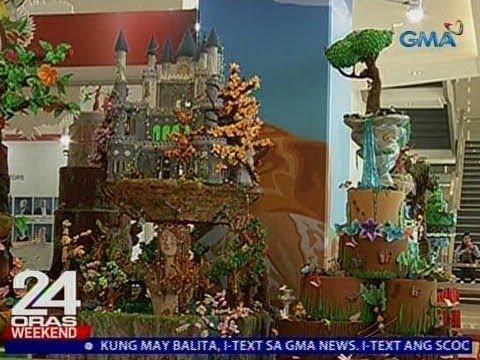24 Oras: Mga cake na mistulang sculptures, ibinida sa kompetisyon ng Pinoy bakers