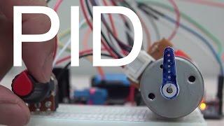 Lập trình PID điều khiển vị trí động cơ DC - Lập trình nhúng LabVIEW cho Arduino #15