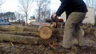 How To Stihl Ms290 Chainsaw Muffler Mod Carb Tuning Speed