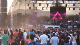 Manzanillo rock fest 2013 Niple ( final mosh)
