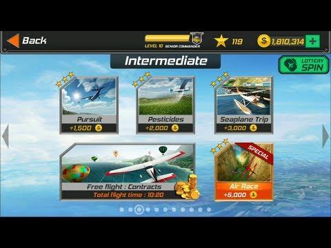 Flight Pilot Simulator 3D Android Game - Intermediate Missions