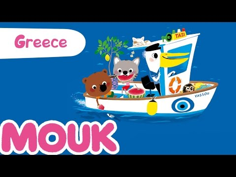 Mouk discovers Greece - 30 minutes compilation HD | Cartoon for kids