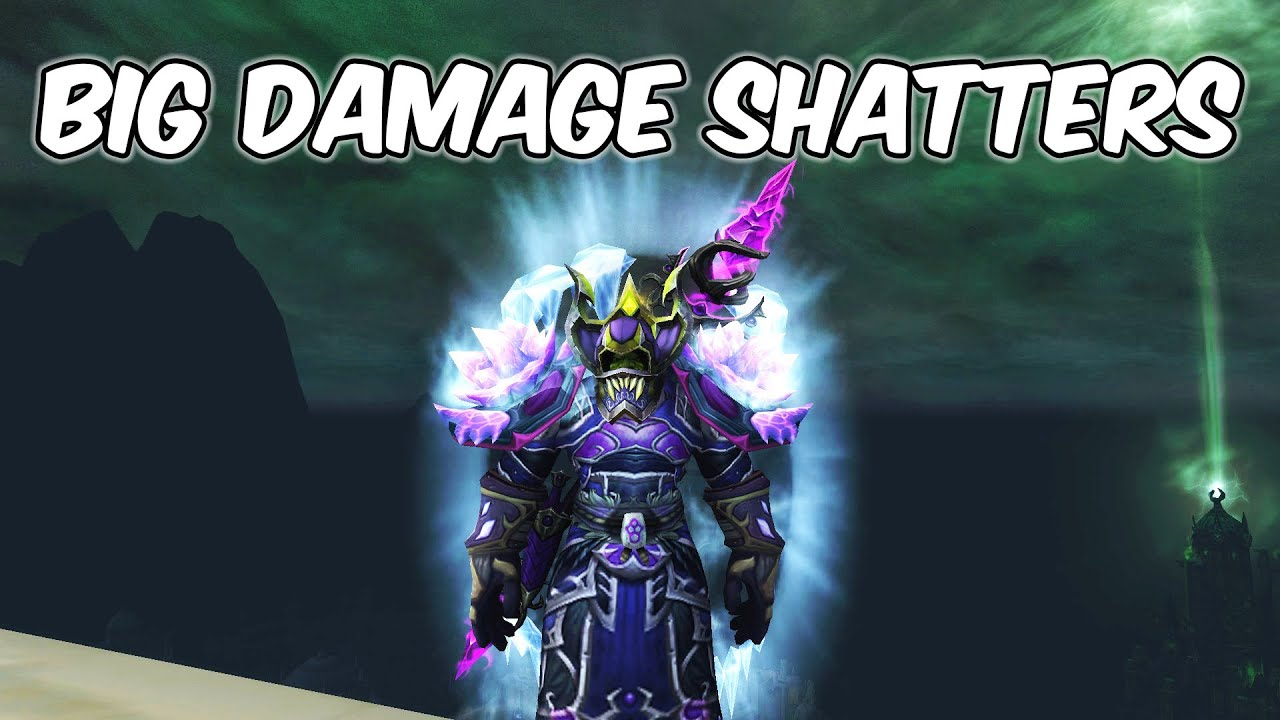 BIG Damage Shatters - Frost Mage PvP