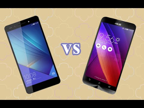 Huawei Honor 7 Vs Asus ZenFone 2