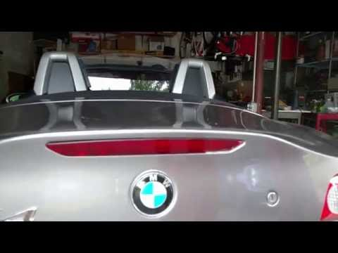 How to Replace Third Brake Light - BMW Z4 Vlog #28