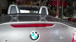 How to Replace Third Brake Light - BMW Z4 Vlog #28