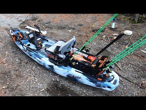 2020 Kayak Fishing Setup