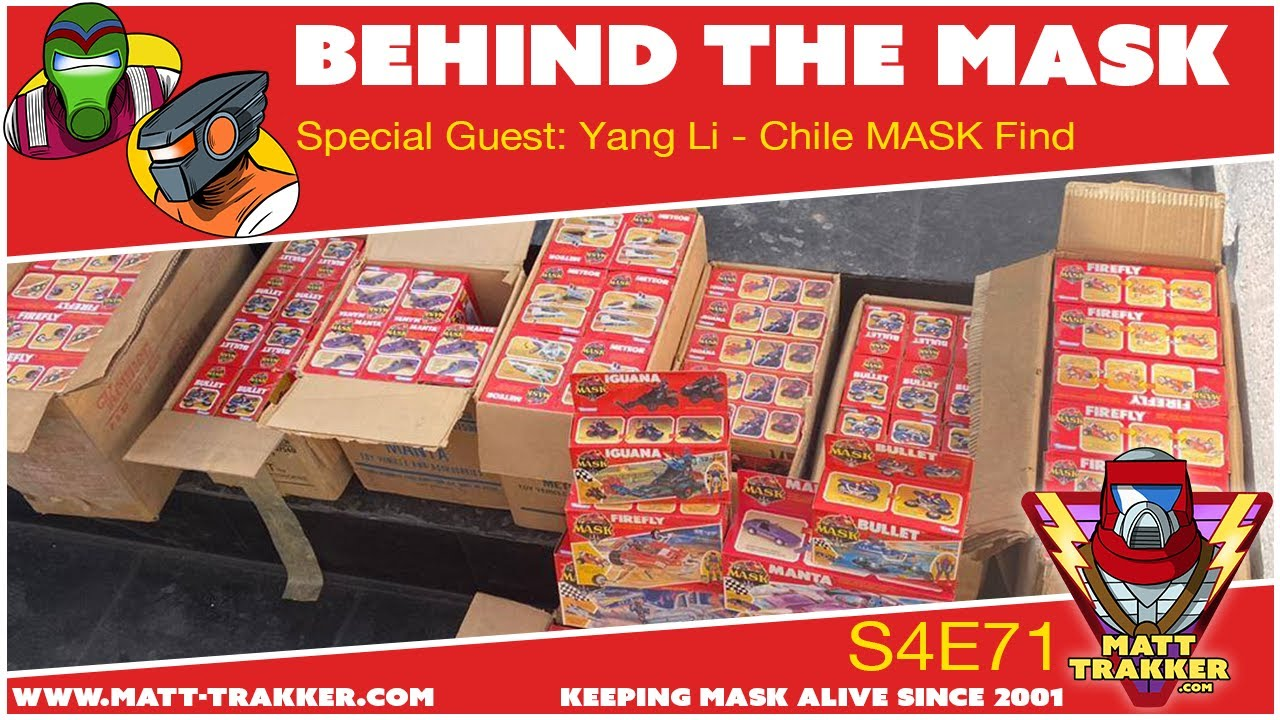 Special Guest: Yang Li - Chile MASK Find - S4E72