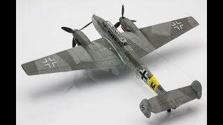 Bf 110 غ-2 ادوارد 1/72 خطوة خطوة نطاق نموذج طائرة بناء