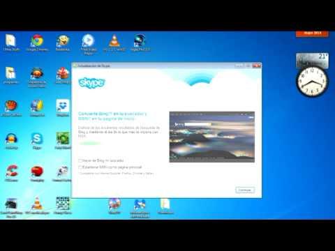 Cómo Instalar Skype Y Hablar Gratis Con Todo El Mundo