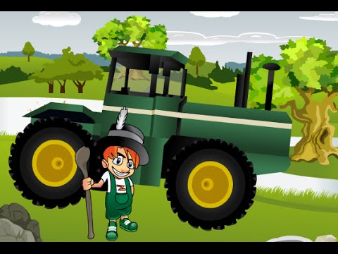 tracteurs dessin anim pour les enfants youtube. Black Bedroom Furniture Sets. Home Design Ideas