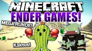 AUA, Das pickt! Kaktus - Minecraft ENDER GAMES SERIE #35 | ungespielt