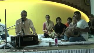 Hare Krishna Kirtan 02 by Niranjana Swami at Gopal