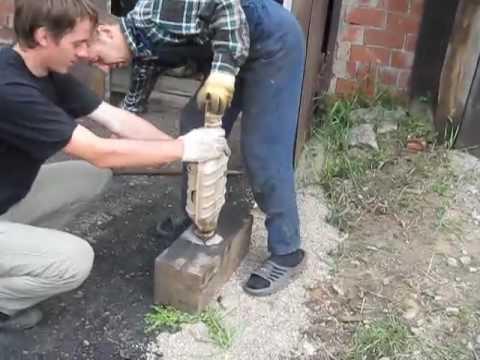 Снятие нейтрализатора,катализатора ваз 2110,2111,2112 - YouTube