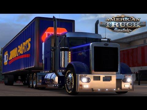 American Truck Simulator: Peterbilt 379 - NAPA Auto Parts - Amarillo to Lubbock Texas