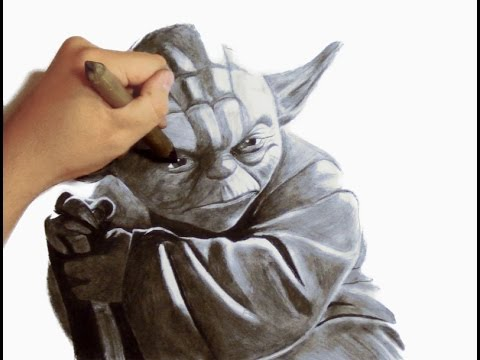 how to draw yoda youtube