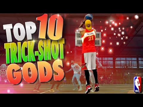 NBA 2K17 Top 10 TRICK SHOT GOD Plays Of The Week!
