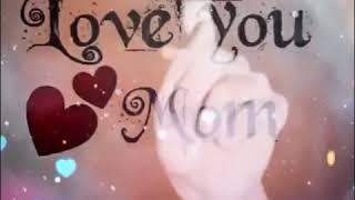 Szeretlek anya