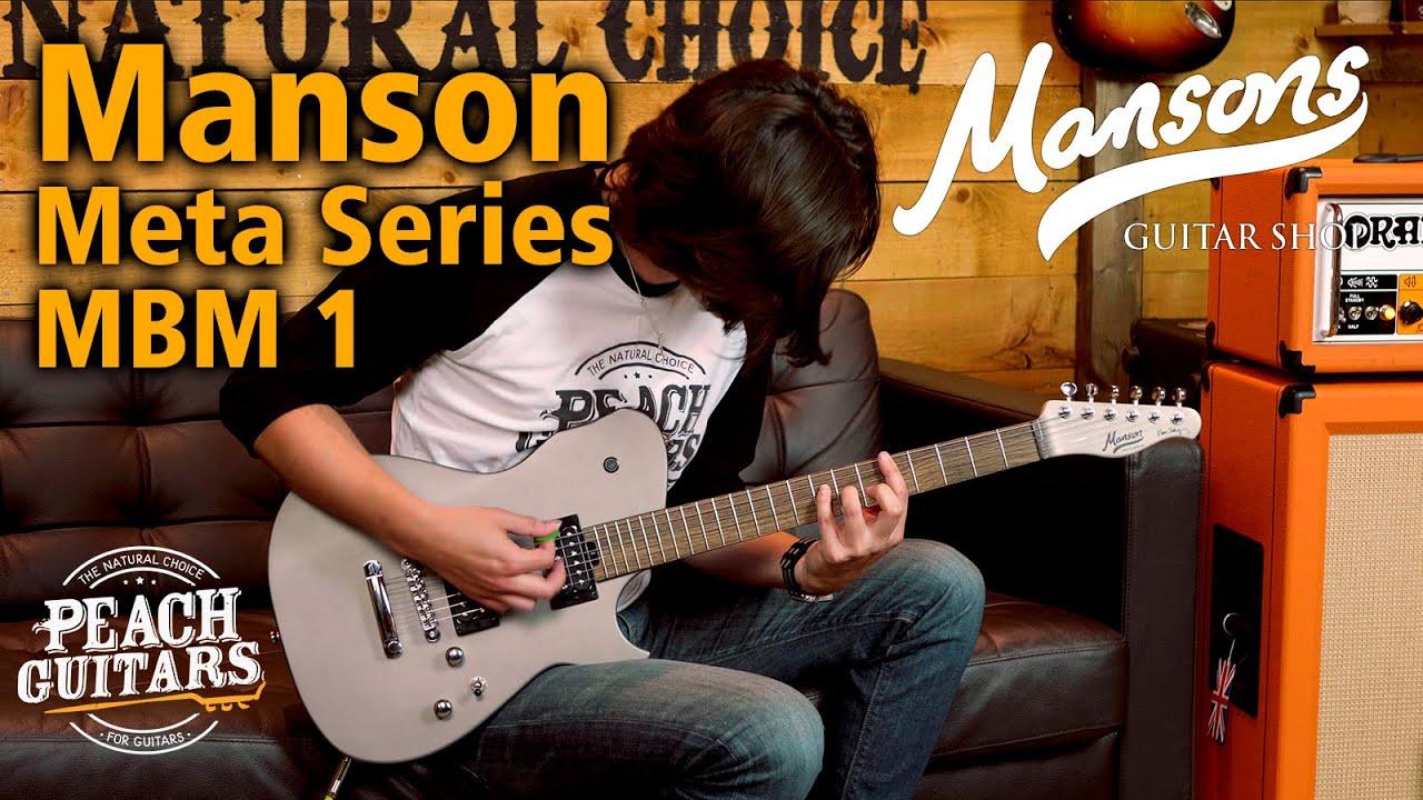 SUPERMASSIVE TONE | Manson X Cort Guitars! Manson Meta Series MBM 1 Matthew Bellamy Signature Guitar