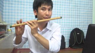 Hướng dẫn thổi sáo: Bến Thượng Hải -cover Lý Hải