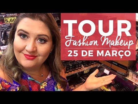 TOUR COMPLETO pela FASHION MAKEUP (antiga Navarro)