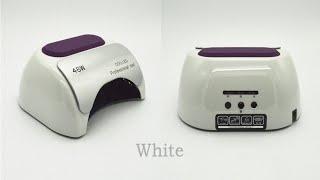 видео CCFL LED UV 48w: обзор и отзыв о лампе для маникюра из Китая (AliExpress)