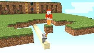 Ich entferne unbemerkt seinen Boden😂👌.. Minecraft LUCKY BLOCK BEDWARS