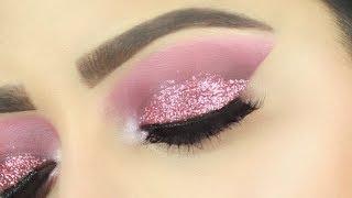 (ग्लिटर स्मोकी ब्राइडल आई मेकअप) Glitter Smokey Bridal Eye Makeup | Deepti Ghai Sharma