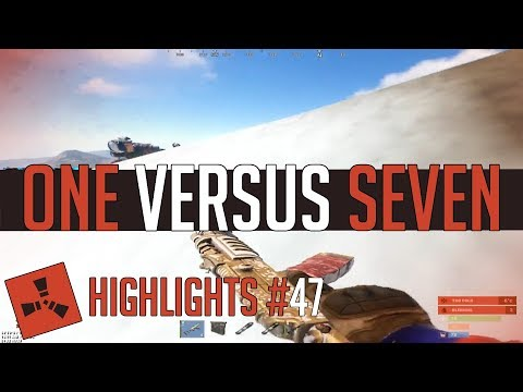 ONE vs SEVEN! (Rust Highlights #47) thumbnail