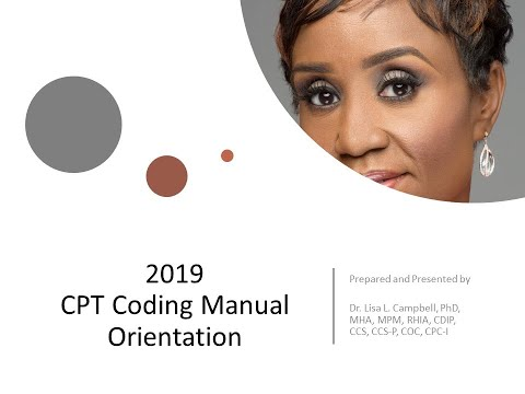 Introduction To The 2019 CPT Manual