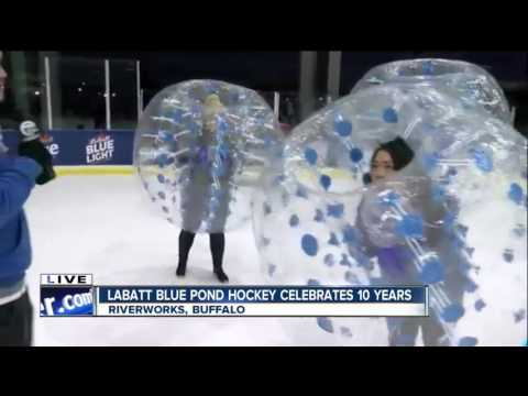 Ice Bubble Hockey To Entertain Fans At Labatt Blue Pond Hockey Tournament