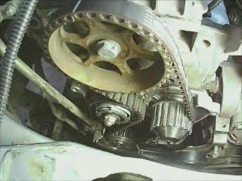 Замена помпы и ремня ГРМ Лада Ларгус, двигатель Рено 8 кл.