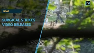 Surgical strikes video released, shows army targeting terror camps in PoK