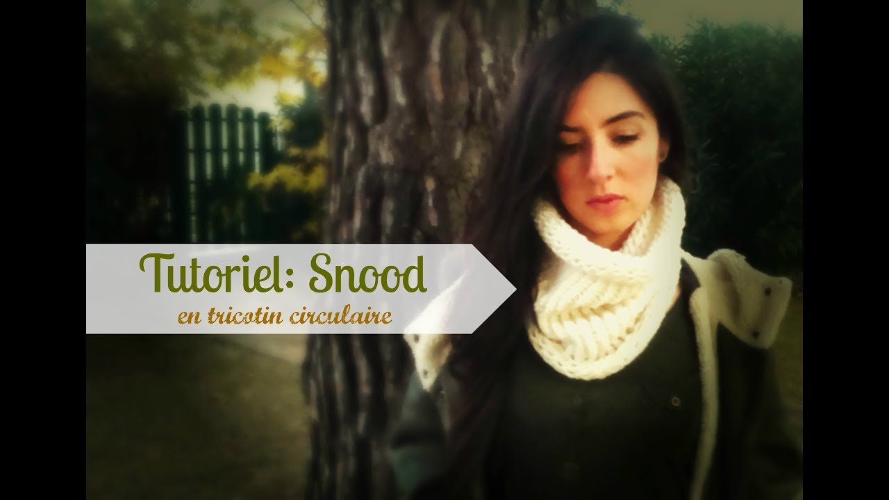 Favori EASY KNITTED COWL/CIRCLE SCARF - YouTube SY76