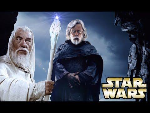 Is Luke Skywalker Living Gandalf the White&39;s Story?