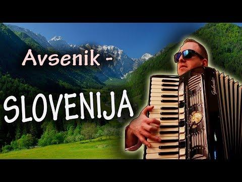Slavko Avsenik - SLOVENIJA Odkod Lepote Tvoje (Accordion)