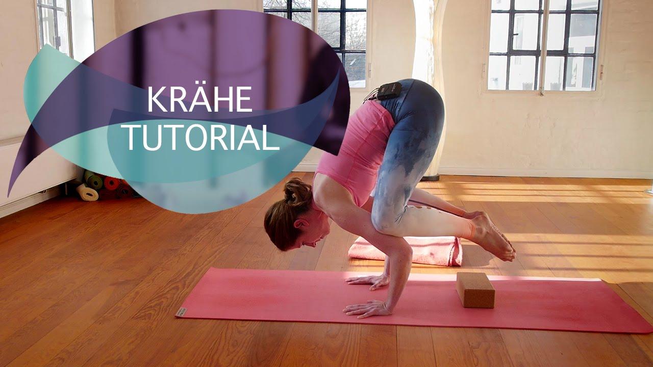 Krähe Tutorial: Yoga Krähe (Kakasana) in einfachen Schritten lernen // FlexibleFit Yoga