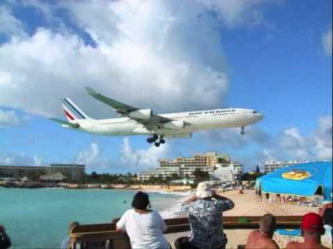 A380 in St. Maarten? Dangerous Landings - YouTube