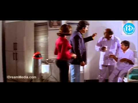 Rajendra Prasad, Uma Shankari, Suman, Jaya Lakshmi Ammo Bomma Movie Climax Scene