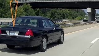 "North Carolina State Highway Patrol ""SHP-136""  Speeding / Tailgating"