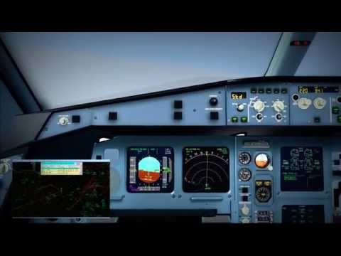IVAO - LH Worldtour 2015 - Leg 13 - Freetown to Brussels (A330)