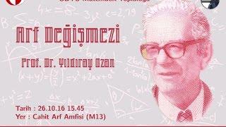 Arf Değişmezi | Prof. Dr. Yıldıray OZAN [Part-1]